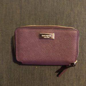 Kate Spade Small Double Zip Coin Card Wallet